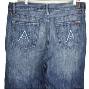7 For All Mankind Mens 36 A Pocket Jeans Bootcut